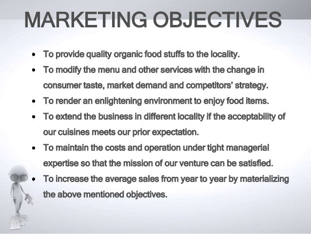 Marketing Plan of an organic Restaurant