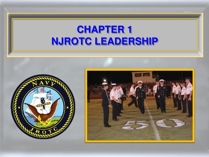 CHAPTER 1 NJROTC LEADERSHIP