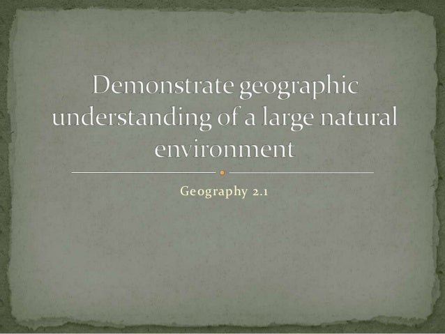 Geography 2.1
