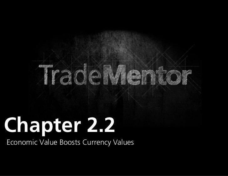 Chapter 2.2Economic Value Boosts Currency Values                               0