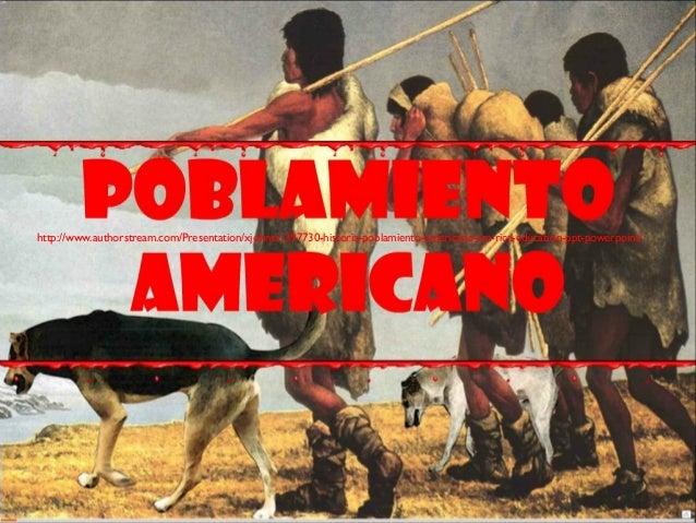 2.  poblamiento americano 2019