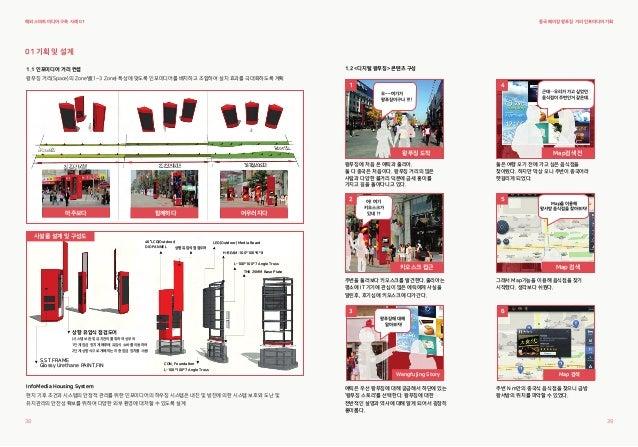 1.2 <디지털 왕푸징> 콘텐츠 구성 1.1 인포미디어 거리 컨셉 왕푸징 거리(Space)의 Zone별(1~3 Zone) 특성에 맞도록 인포미디어를 배치하고 조합하여 설치 효과를 극대화하도록 계획 01 기획 및 설계 I...