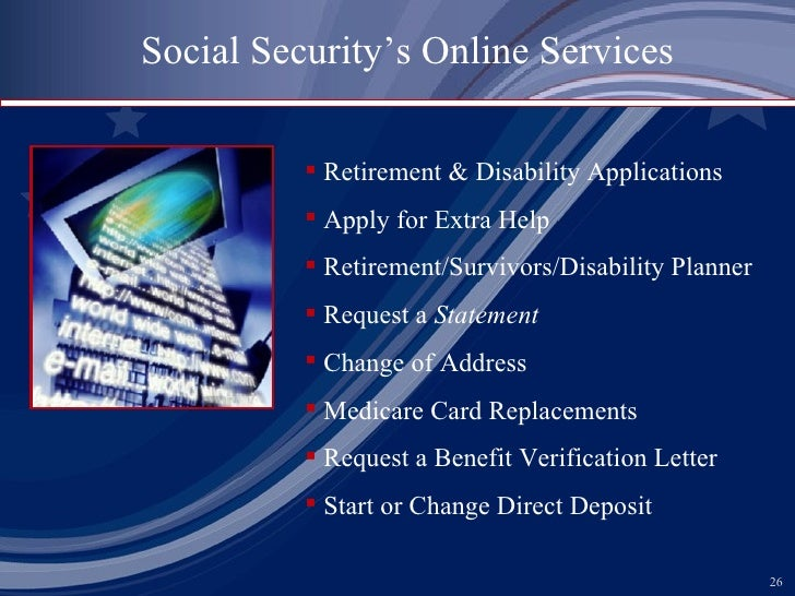 Social Security Powerpoint Presentation