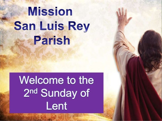 Holy Week Schedule                               PALM                             SUNDAY OF                             TH...