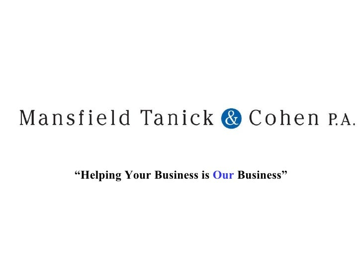 """"""" Helping Your Business is  Our  Business"""""""