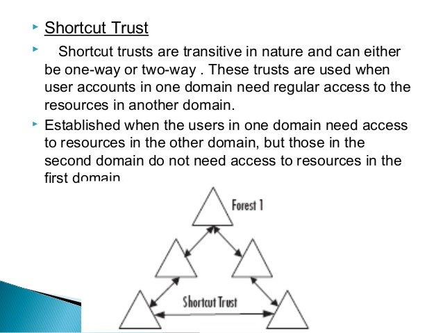 2 2 determining trust relationships
