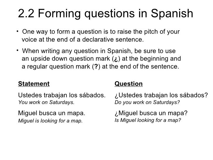 2.2 forming questions