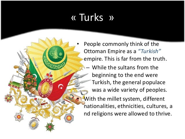 Nationalism In The Ottoman Empire