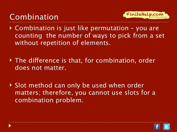 how to find combinations in math