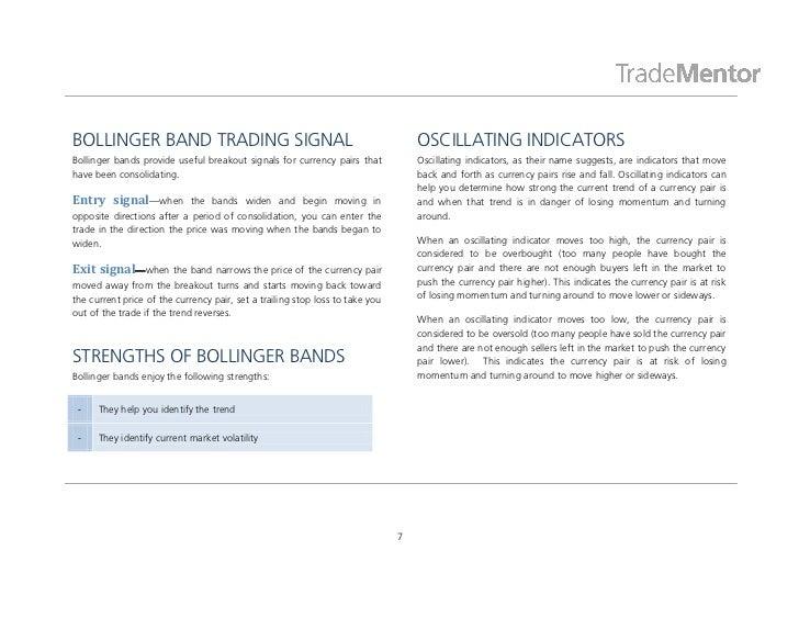 Forex technical analysis indicators