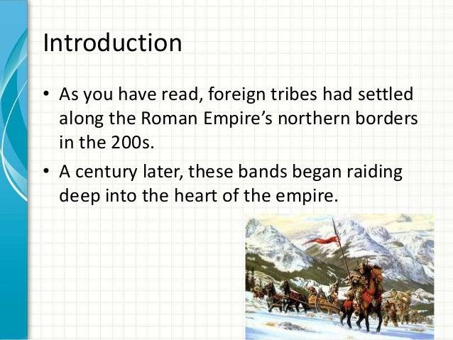 Decline of the Roman Empire Slide 2