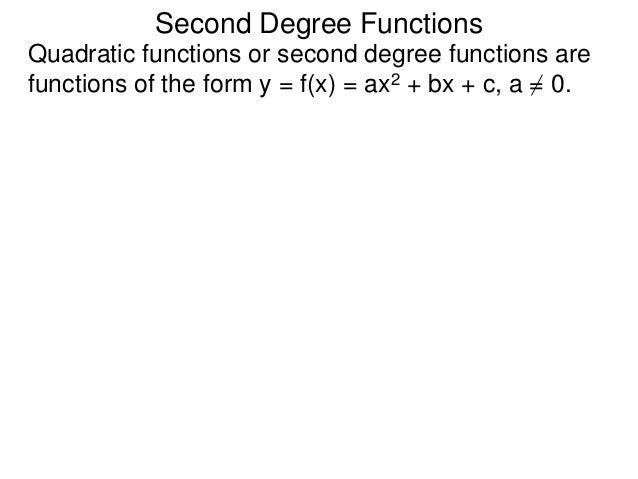 First Degree Functions http://www.lahc.edu/math/precalculus/math_260a.html