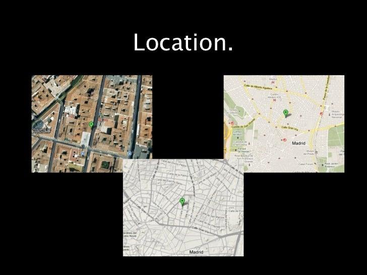 Location.  My apartment is on Calle de Barco. Manyattractions surround it such as the Gran Via,  Iglesia de San Antonio de...