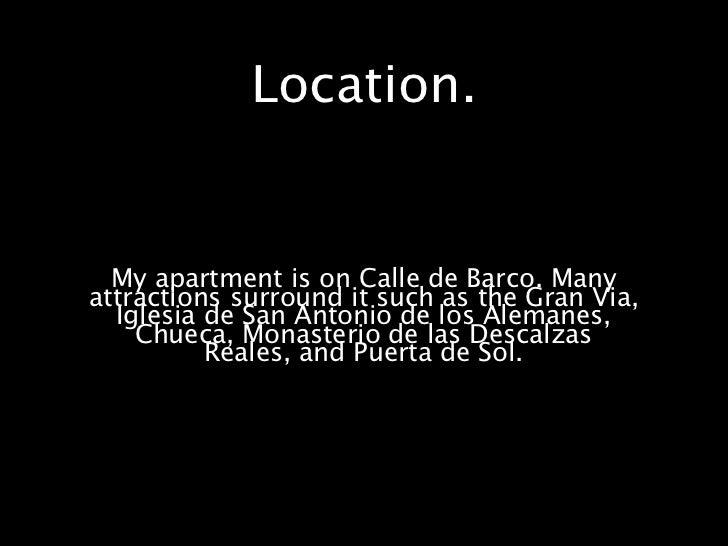 Attractions Near My                                  Apartment.            Gran Via                                       ...