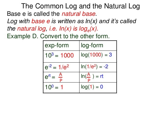 2 4 Introduction To Logarithm