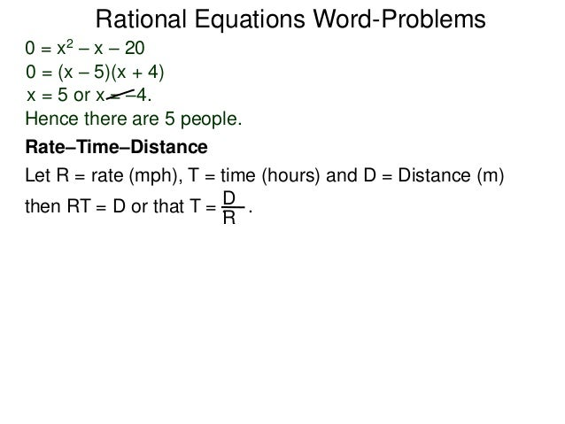 2 5 rational equations word-problems