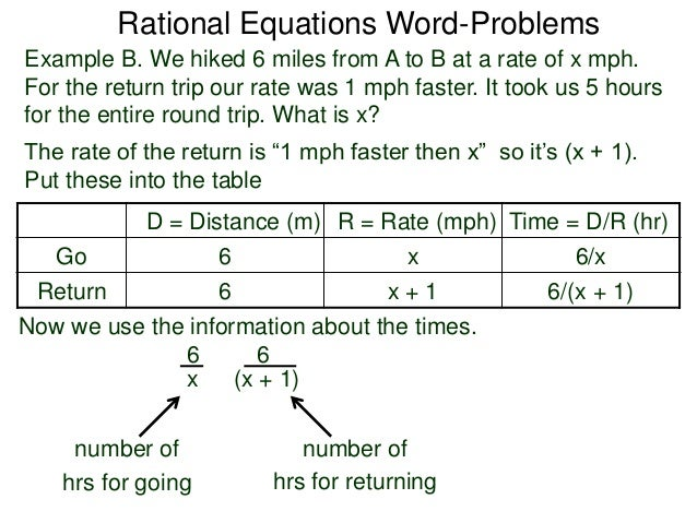 Rational Expressions Word Problems Worksheet Image Gallery - Hcpr