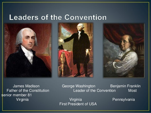 benjamin franklin and the constitutional convention essay Benjamin franklin's final speech in the constitutional convention from the notes of james madison mr president: i confess that i do not entirely approve of this.