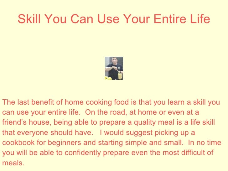 The Top 10 Home Cooking Health Benefits