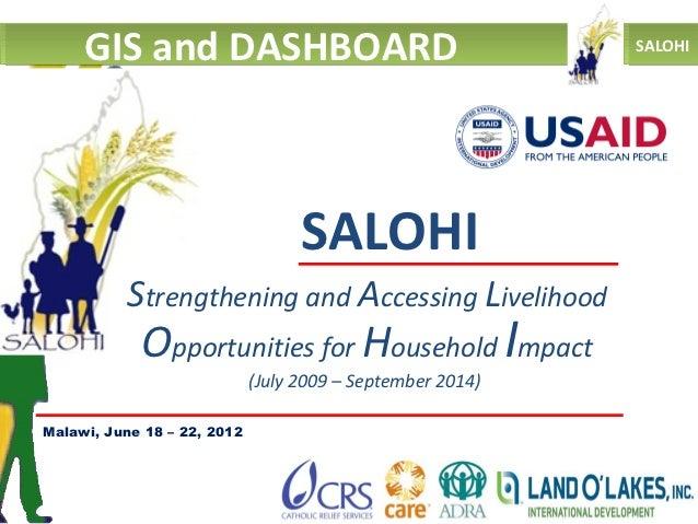 GIS and DASHBOARD                                      SALOHI                                   SALOHI          Strengthen...