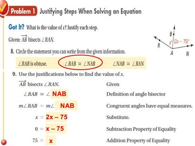 2 5 reasoning in algebra and geometry (1)