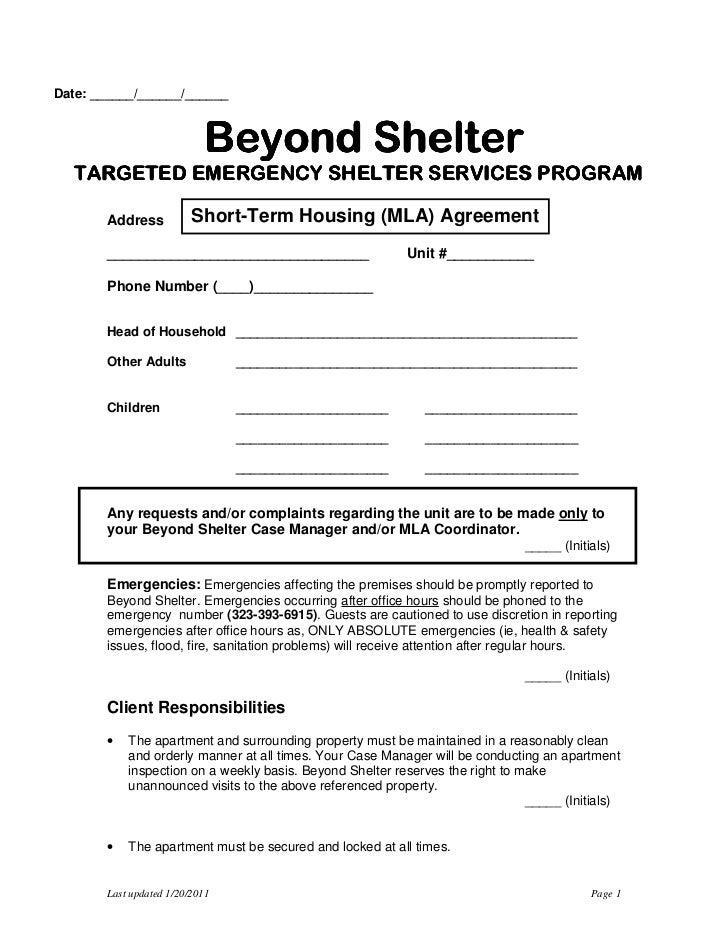 Date: ______/______/______                           Beyond Shelter                           Beyond Shelter              ...