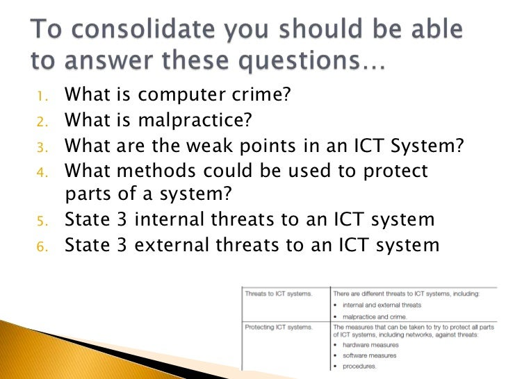 threats to organisations systems and data Types of threats in the organisation information technology essay  is not  secured that will be easy for people from outside to have access on your data.