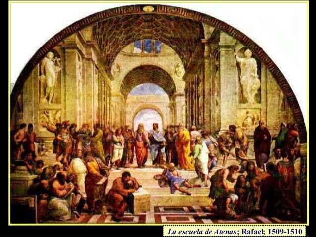 La escuela de Atenas; Rafael; 1509-1510