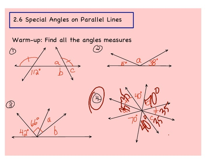 Line Art With Lines And Angles : Parallel lines angles