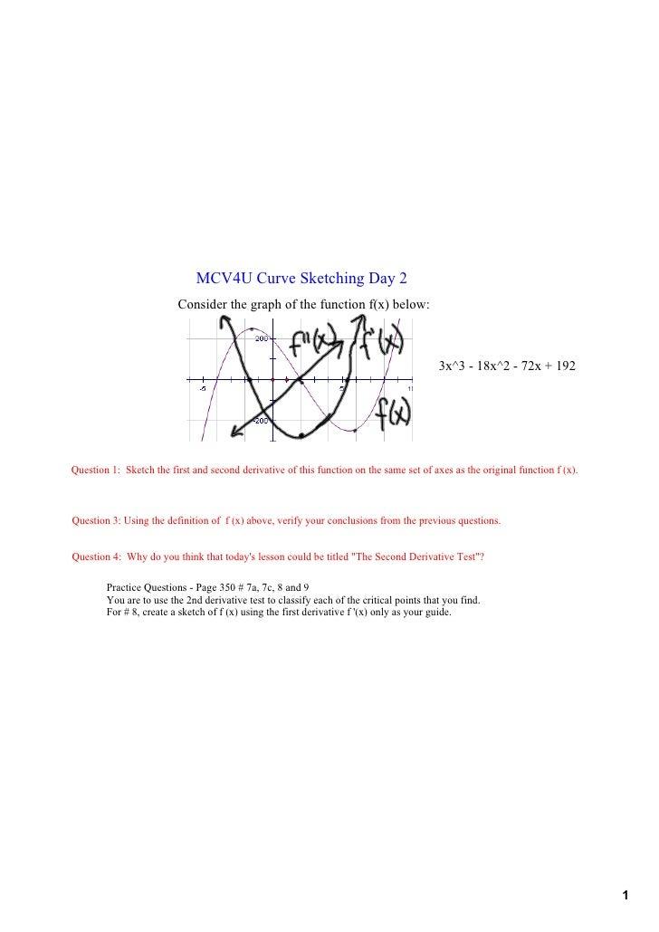MCV4UCurveSketchingDay2                           Considerthegraphofthefunctionf(x)below:                     ...