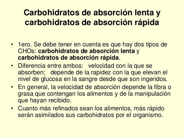 2.8. nutricion carbohidratos