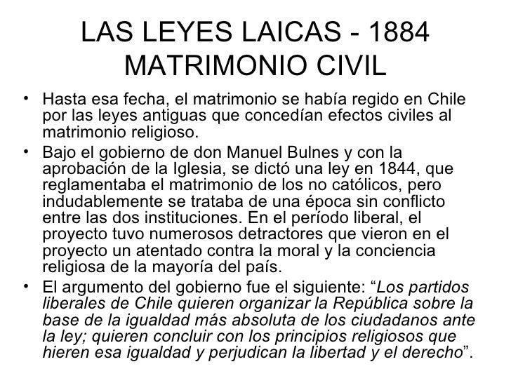El Matrimonio Catolico Tiene Efectos Civiles En Colombia : Secularización de las instituciones