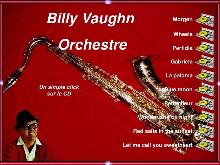 Billy Vaughn                      Morgen                                      Wheels        Orchestre                     ...