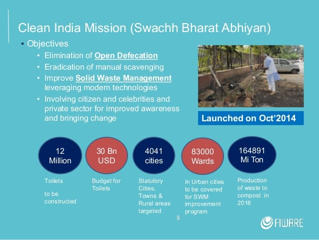 FIWARE Tech Summit - Smart Waste Management in India