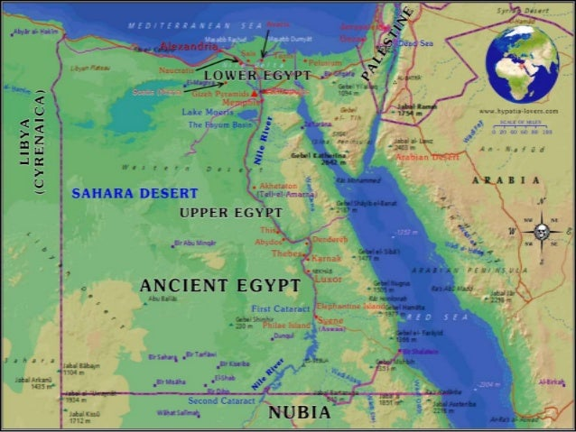 Ancient Middle East And Egypt - Map of egypt and middle east
