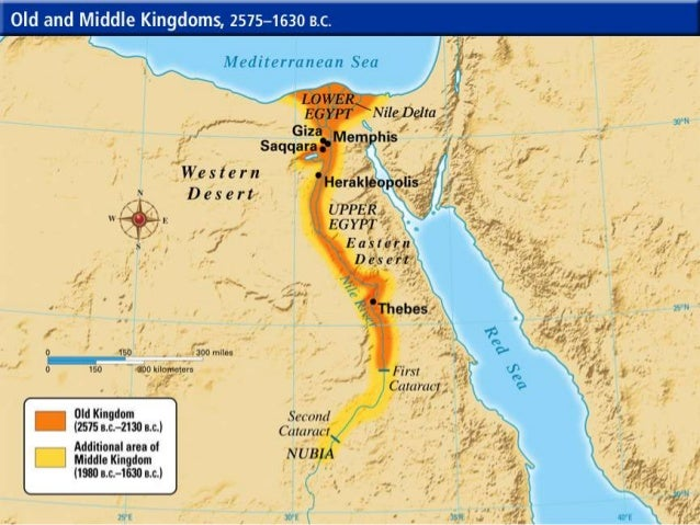 Ancient Middle East And Egypt - Map of egypt during the new kingdom