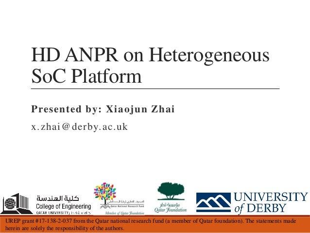 ANPR FPGA Workshop