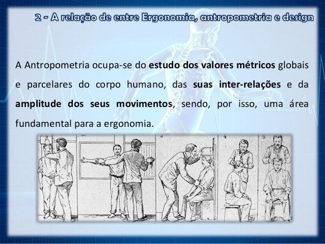 2 a rela o entre ergonomia antropometria e design for Antropometria estatica