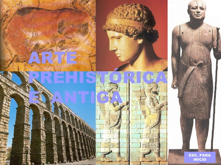 Arte prehistórica e antiga  (Francisco A. Pérez Otero)