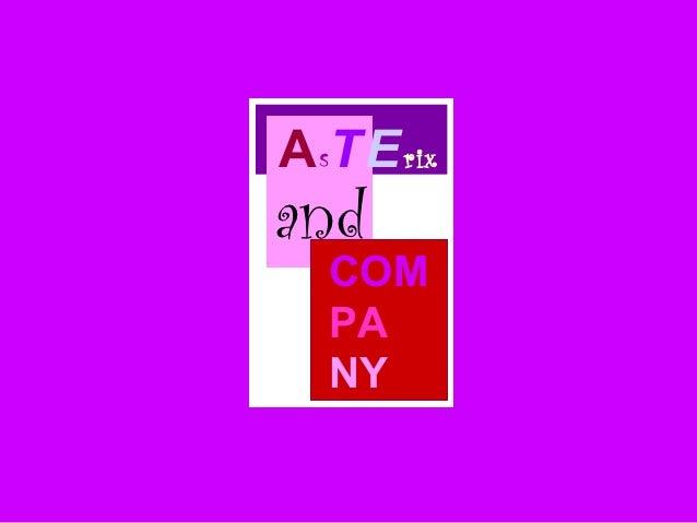 A sT E rixand   COM   PA   NY