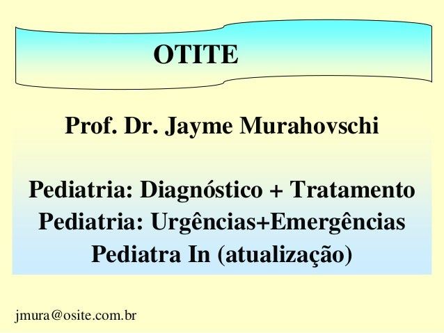 Prof. Dr. Jayme Murahovschi Pediatria: Diagnóstico + Tratamento Pediatria: Urgências+Emergências Pediatra In (atualização)...