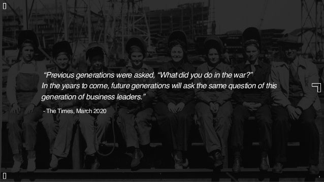 """""""Previous generations were asked, """"What did you do in the war?"""" In the years to come, future generations will ask the same..."""
