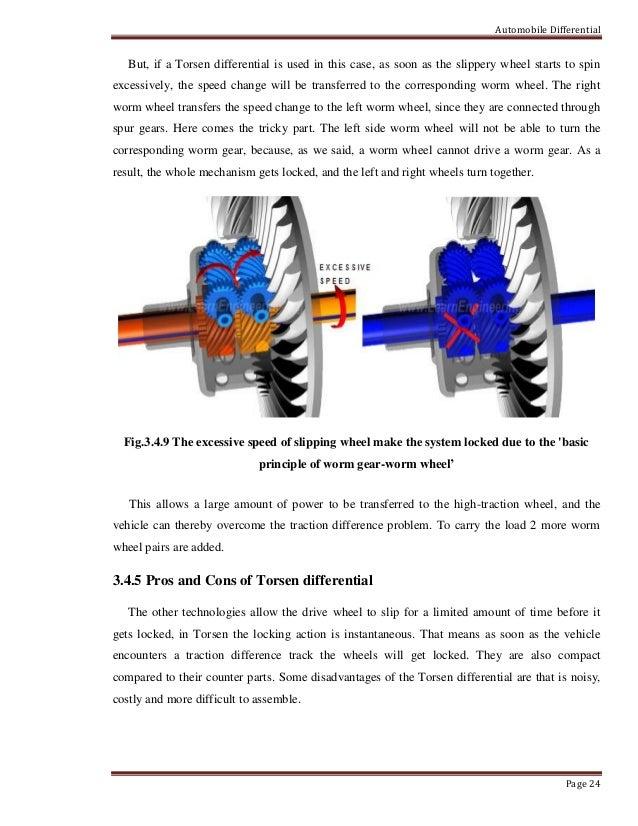 automobile differential