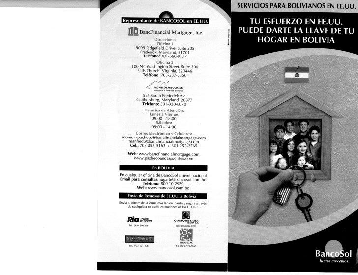2 Banco Sol Credito Hipotecario