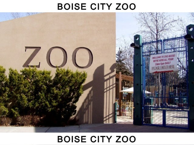 BOISE CITY ZOO BOISE CITY ZOO