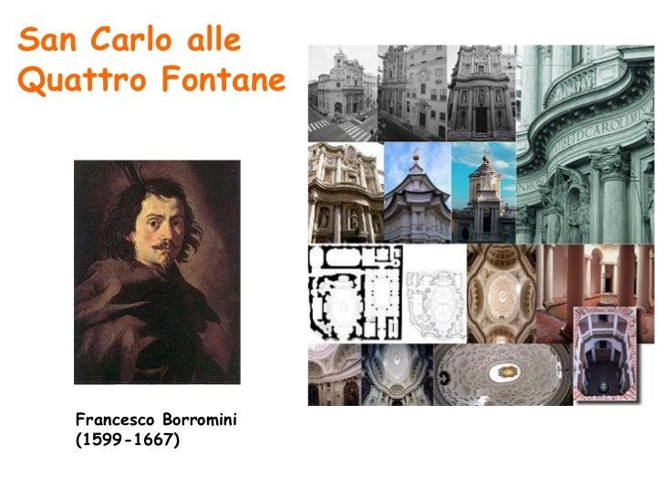San Carlo alleQuattro Fontane   Francesco Borromini   (1599-1667)