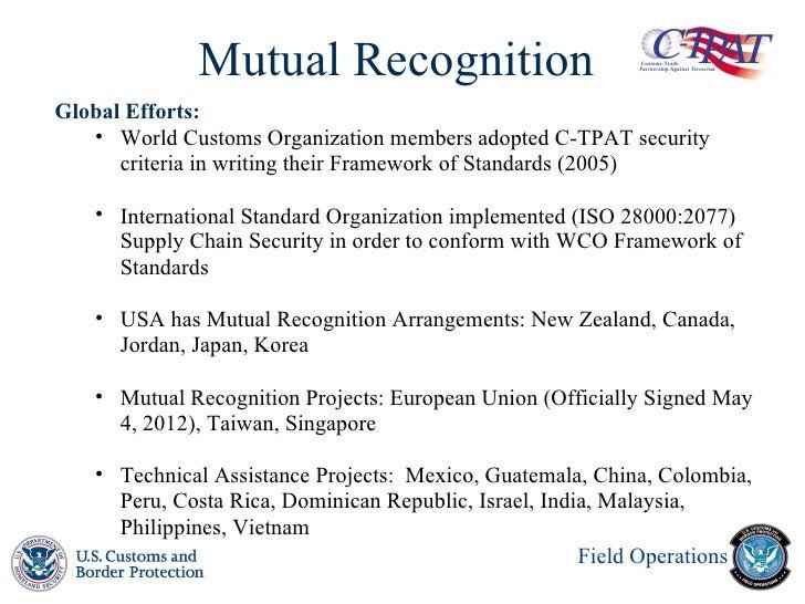 c tpat Bienvenido a c-tpat cuestionario de autoevaluación todas las preguntas están basadas utilizando el criterio mínimo de seguridad exigido por la agencia de.