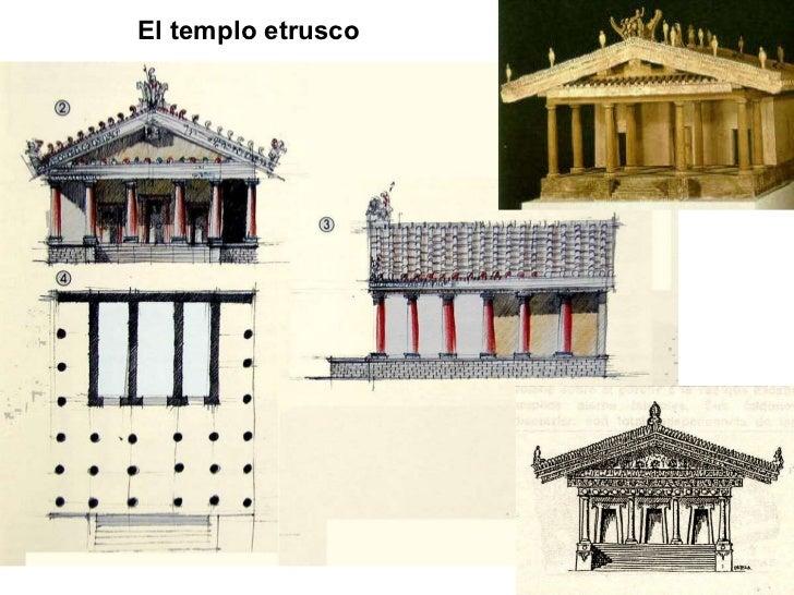 El templo etrusco