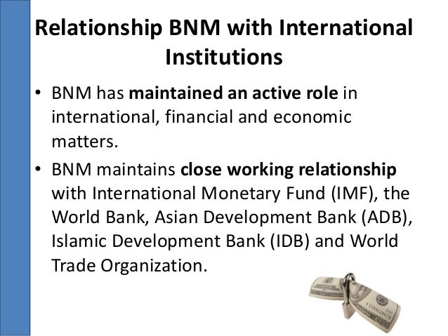 role of central bank in international trade