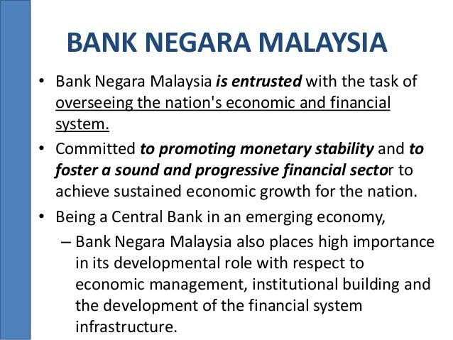 role of bank negara malaysia